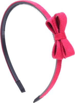 RUBANS Light Red Bow Hair Band
