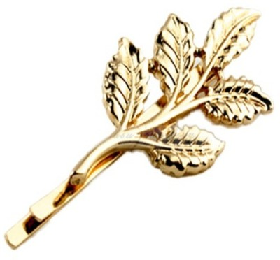 Stile Lovely Leaves Golden Hair Pin