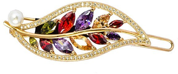 K.R.S. Jewels NA Hair Clip(Multicolor)