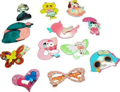 Aarvis Mix Pattern Hair Clip(Multicolor)