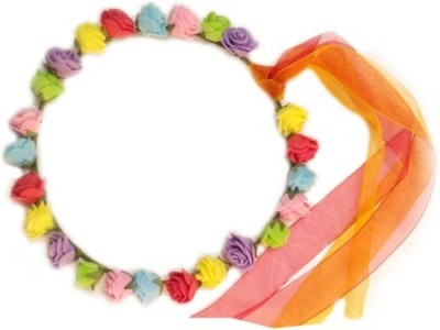 Blossom Multicolor Tiara Head Band