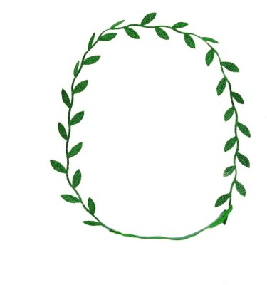 De Rene Roman Goddess Leaf Head Band