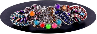 IndianCheez Multi Color Back Pin or Hair Pin Back Pin