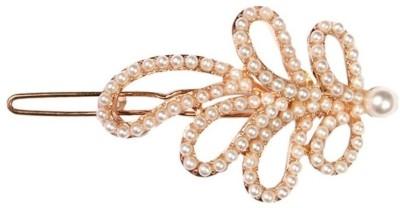 Crunchy Fashion Contemporary Leaves Hair Pin
