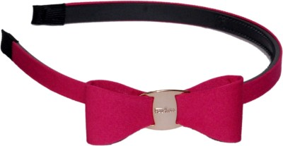 Idha Pink Gorgeous Bow Hair Band