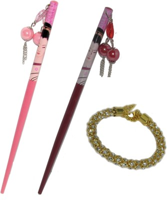 ASMO Juda Stick with Bracelet Hair Accessory Set