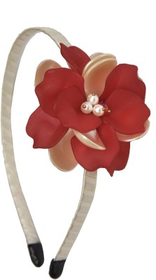 Itz About U Double Lyer Flower Hair Band