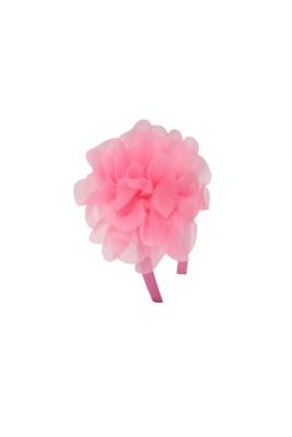 Soni Fashions Pink Flower Hair Band