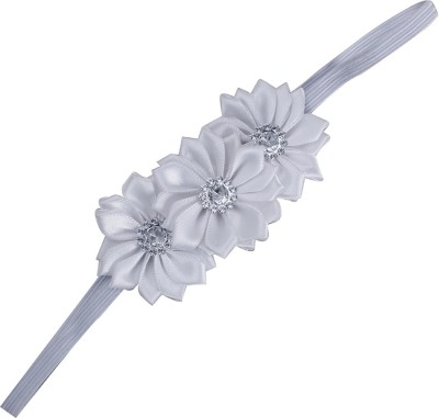 Pikaboo Triple crystal flower Head Band