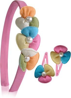 Hopscotch CS4-131132 Hair Accessory Set(Multicolor)