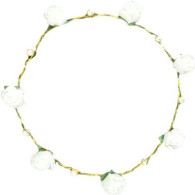 Pankh Flower Tiara Head Band Hair Band