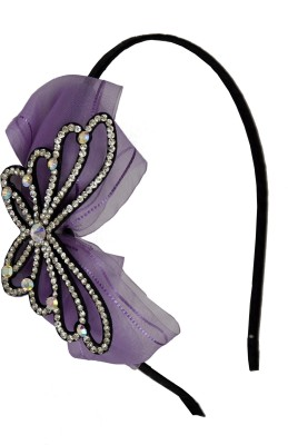 Itz About U Butterfly With Bow Hair Band