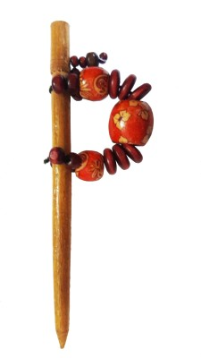 CraftEra Wooden Stick Hair Pin