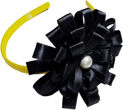 Apeksha Arts Black Floral Hair Band Head Band