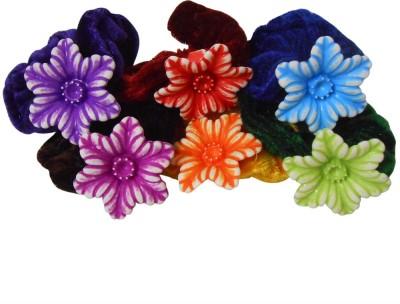 Adbeni Colourful Flower Hair Rubber Bands Good Choice Rubber Band
