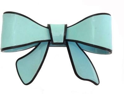 Shreya Collection Bow Style Fancy Blue Hair Back Clip Back Pin
