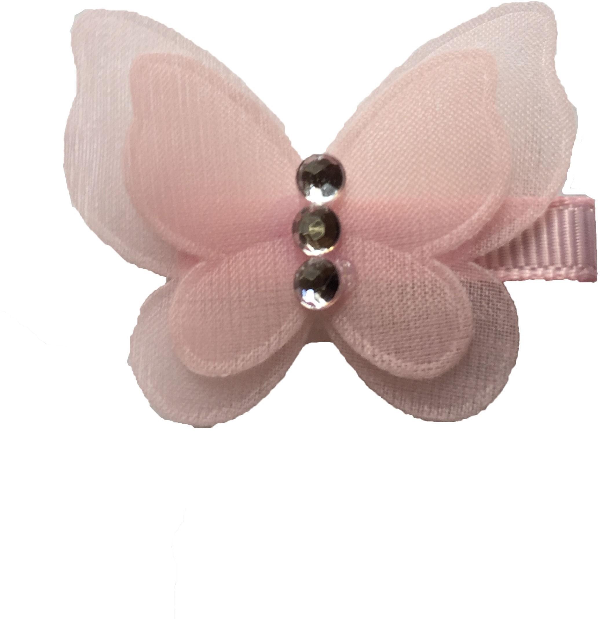 Bellazaara Pretty Butterfly With Rhinestone Hair Clip(Pink) best price on Flipkart @ Rs. 105