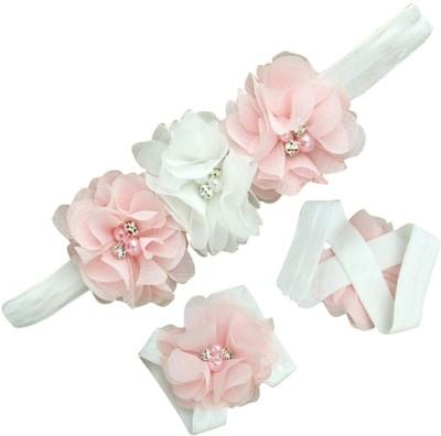 BabyZinnia Rosset Diamond pearl embellished Hair Accessory Set