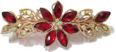 Trendz Collections Designer Red Colour Hair Clip