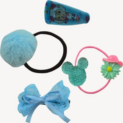 Angel Glitter Blue Mini Combo Hair Accessory Set