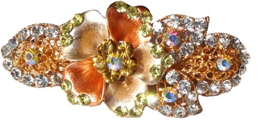 Shreya Collection Fashion Multi Colour Stone Studded Hair Clip Back Pin