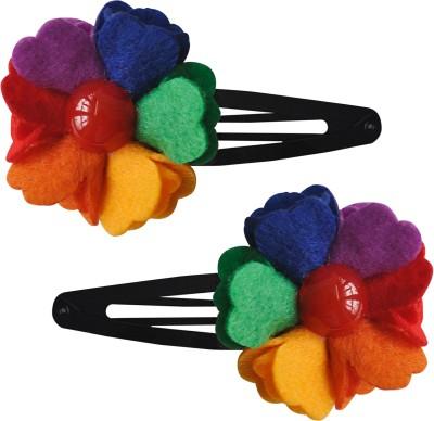 Hopscotch Rainbow Flower Hair Clip