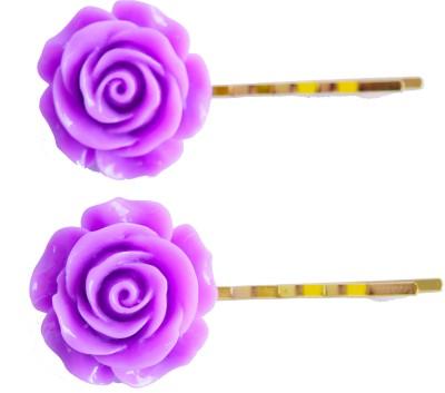 Bows Are Wows Purple Royal Rose Hair Pin