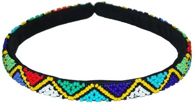 Mehrunnisa Traditional South African Multicolor Hair Band