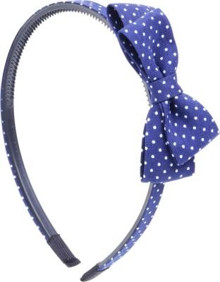 RUBANS Blue Polka Dot HB Hair Band