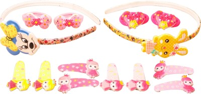 TAKSPIN micky & bunny shape design Hair Accessory Set