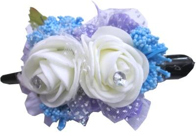 Apeksha Arts Floral Design Pin With Flowers Hair Pin