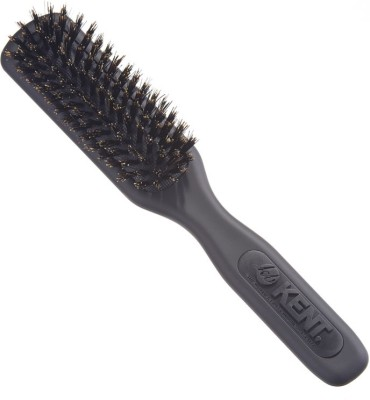 Kent AH14G Pure Bristle Styling, Setting & Combing Travel Hair Brush