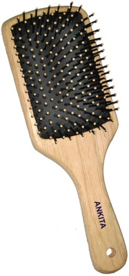 ANKITA WOODEN PADDLE HAIR BRUSH (PR-1813)