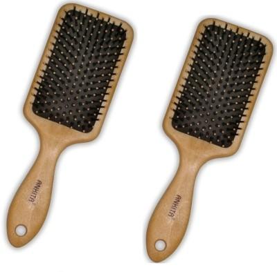 Ankita Mini Paddle Brush Ap144 W( Set of 2 Pc)