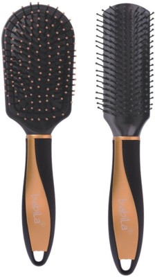 Babila CUSHIONED & FLAT HAIR BRUSH-A