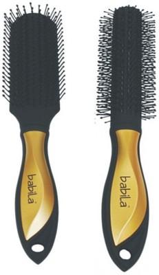 Babila FLAT & ROUND HAIR BRUSH-A