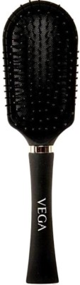 Vega Premium Collection Cushioned Brush (Black)