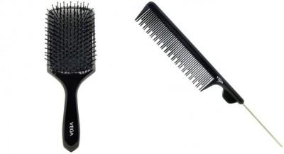 Vega Paddle Brush & Tail Comb