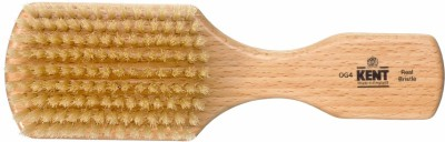 Kent Og3 Rectangular Beechwood White Pure Bristle Luxury Club Brush