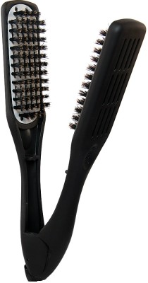 Denman D79 Thermo Ceramic Straightening Brush with Boar Bristles