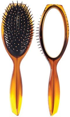 ANKITA SHELL HAIR BRUSH WITH MIRROR (AP-145)