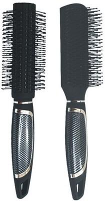 Babila ROUND & FLAT HAIR BRUSH-B