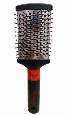 Pinkees Metal Paddal Hair Brushes Over Soft Grip