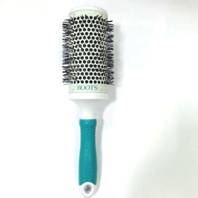 Roots Professional ceramic barrel brushes with silicon strip