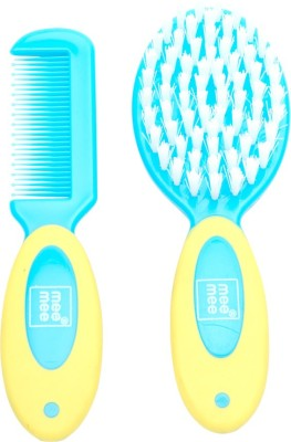 Mee Mee Soft Grip Brush & Comb Set_Blue