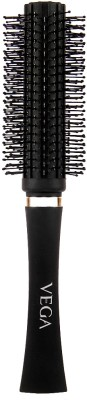 Vega Premium Collection Round Brush (Black)