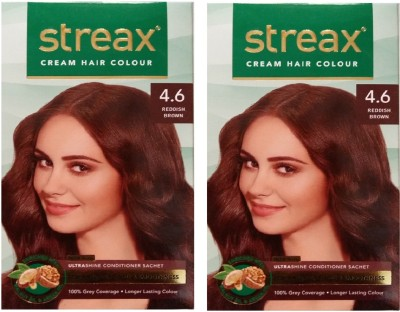 fdede63b9c1 STREAX Hair Color Pack of 2 0 6 Flame Red Hair Color Flame Red Best ...