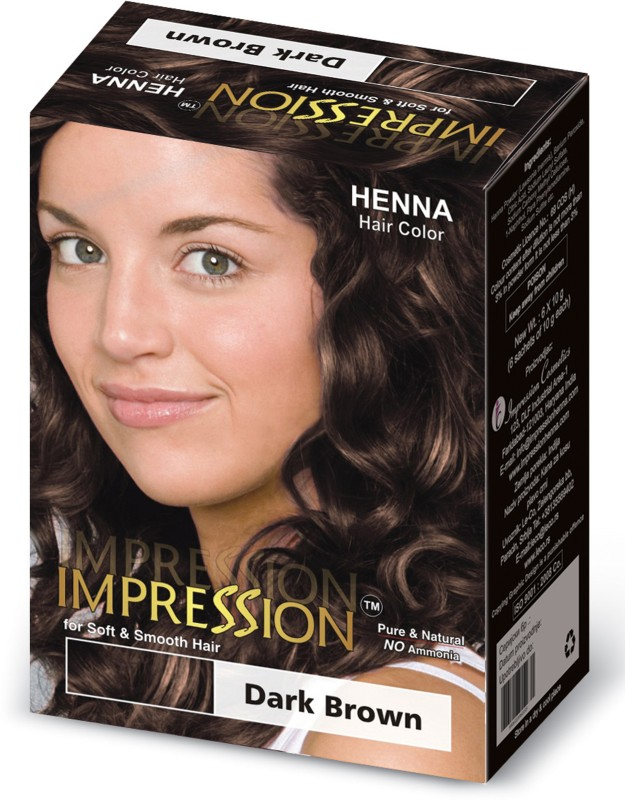 Impression Henna Based Hair Color(Dark Brown)