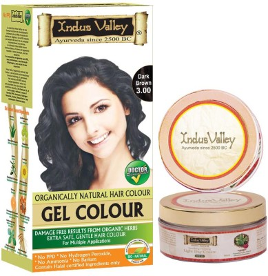 Indus Valley Organically Natural with light Day Cream Hair Color