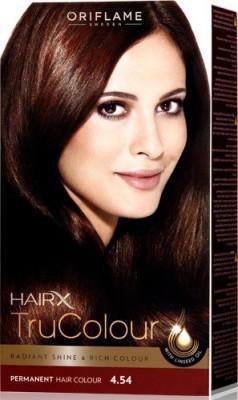Oriflame Sweden HairX TruColour - 4.54 Hair Color
